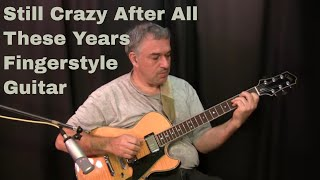 Still Crazy After All These Years, Paul Simon, fingerstyle guitar arrangement, Jake Reichbart