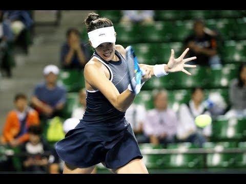 2017 Toray Pan Pacific Open Quarterfinals | Garbiñe Muguruza vs Caroline Garcia | WTA Highlights