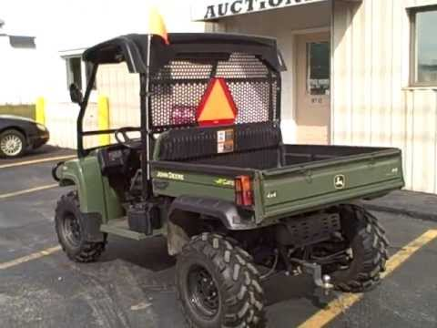 john deere gator xuv 4x4 620i for sale youtube. Black Bedroom Furniture Sets. Home Design Ideas
