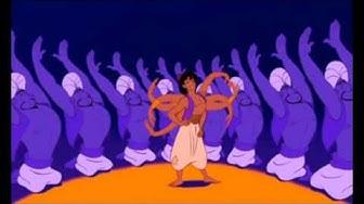 Aladdin german Songs Nur'n kleiner Freundschaftsdienst Friend Like Me