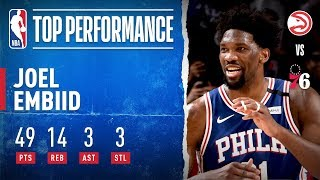Embiid Has CAREER NIGHT With 49 PTS!