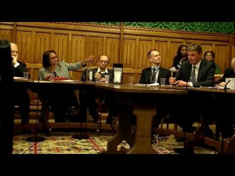 Dr Marcus Papadopoulos took questions at the House of Lords