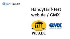 Test: Handytarif von GMX und web.de