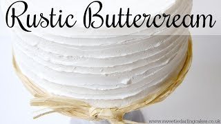 Easy Textured Buttercream
