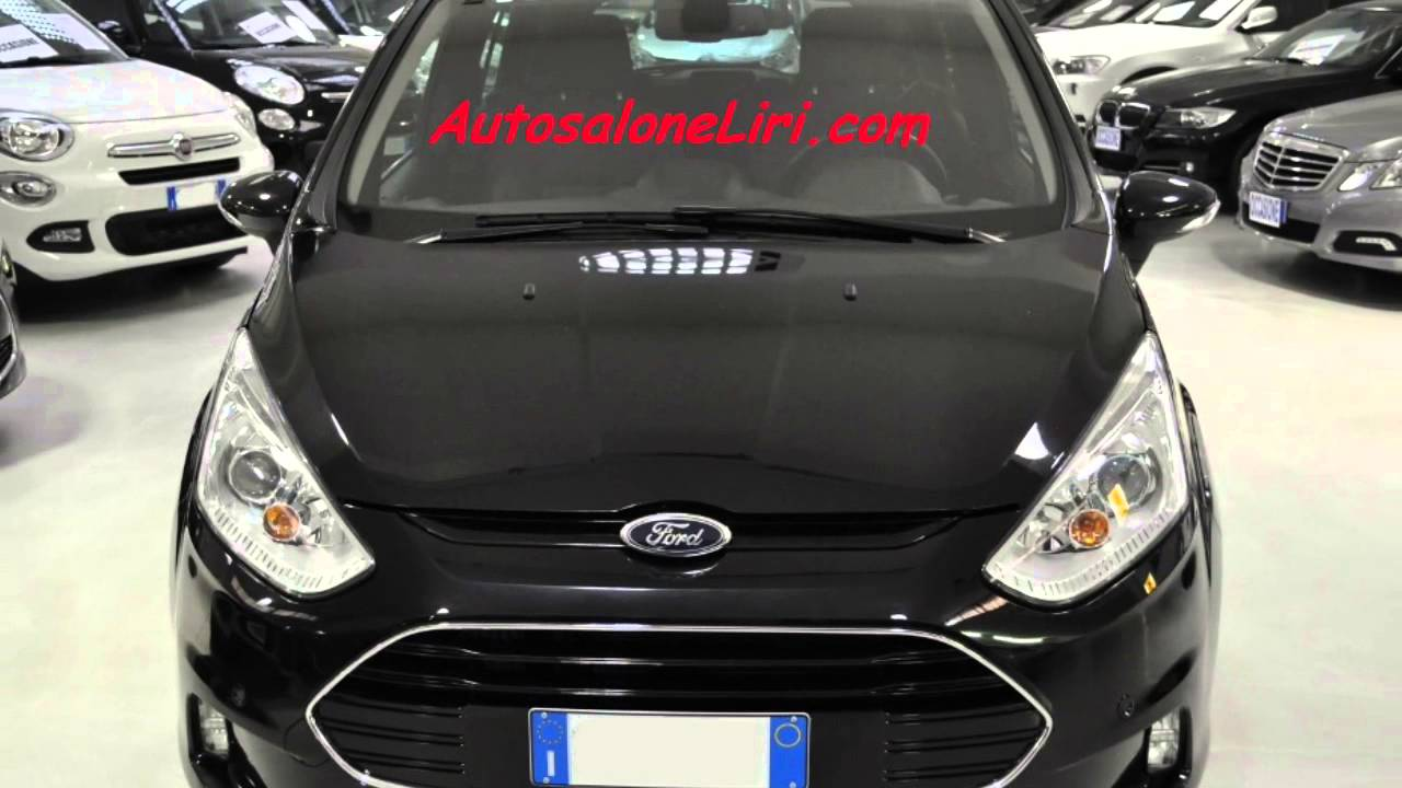 ford b max titanium diesel 1 5 tdci 95cv youtube. Black Bedroom Furniture Sets. Home Design Ideas
