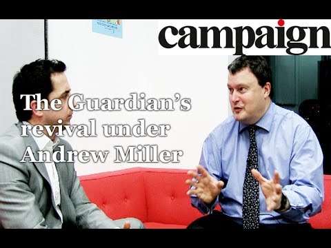 Andrew Miller, chief executive, Guardian Media Group