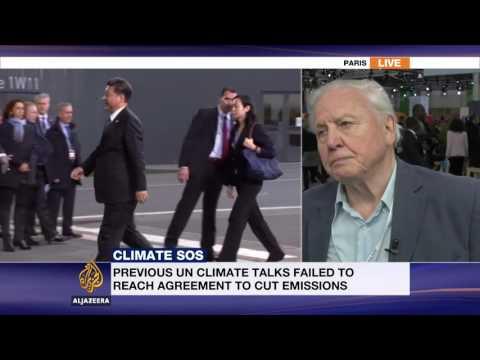 Al Jazeera interviews Sir David Attenborough at COP21