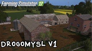 ️Prezentacja mapy - Drogomyśl V1 #46 Farming Simulator 17