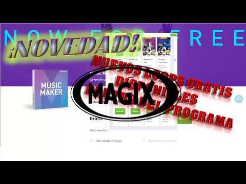 MAGIX MUSIC MAKER FREE-GRATIS DESDE LA PAGINA OFICIAL NOVEDAD