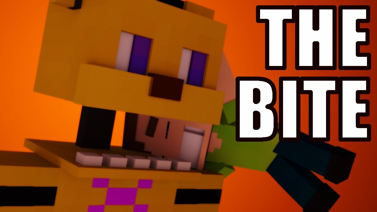 THE BITE OF 87/83 Mini-Game - FIVE NIGHTS AT FREDDY'S 4 (Minecraft  Animation)