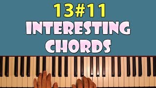 interesting chords corner: 13#11 (13 sharp 11)