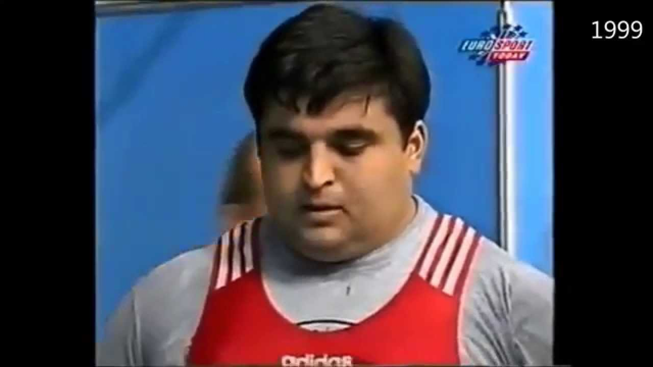 Hossein REZAZADEH at the World Weightlifting Championships 1999 - 2006
