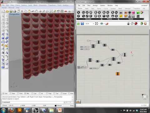 Week 5: Parametric Design Process Part II - Computational Methods, Fall 2012