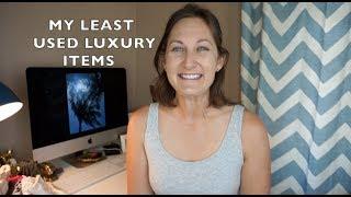 MY 5 LEAST USED LUXURY ITEMS Tag