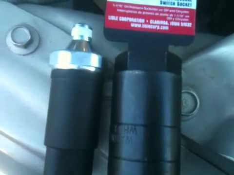 1995 Dodge Ram 1500 5 9l Oil Sending Switch Part 1 Youtube