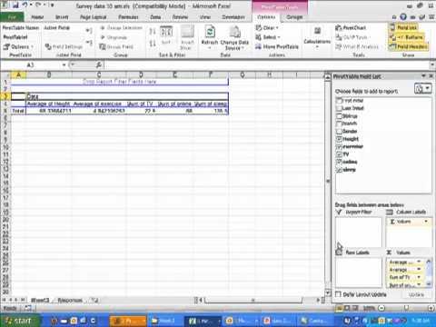 how to explain descriptive statistics table