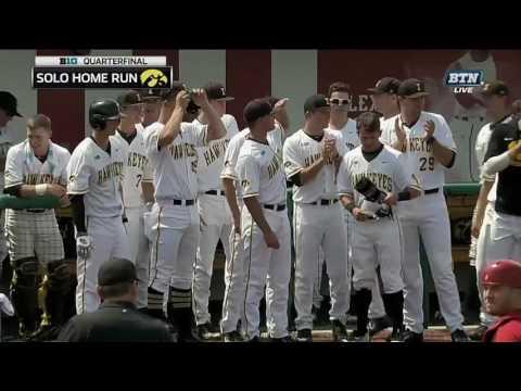 Iowa on the Board Thanks to Whelan's Home Run