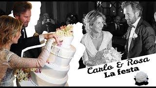 Carlo Cracco e Rosa Fanti: la festa dopo le nozze TABLOIT.IT