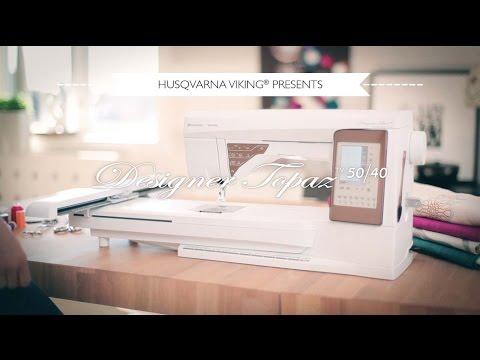 DESINGER TOPAZ™ 40 Sewing Machines Svenska by HUSQVARNA VIKING®