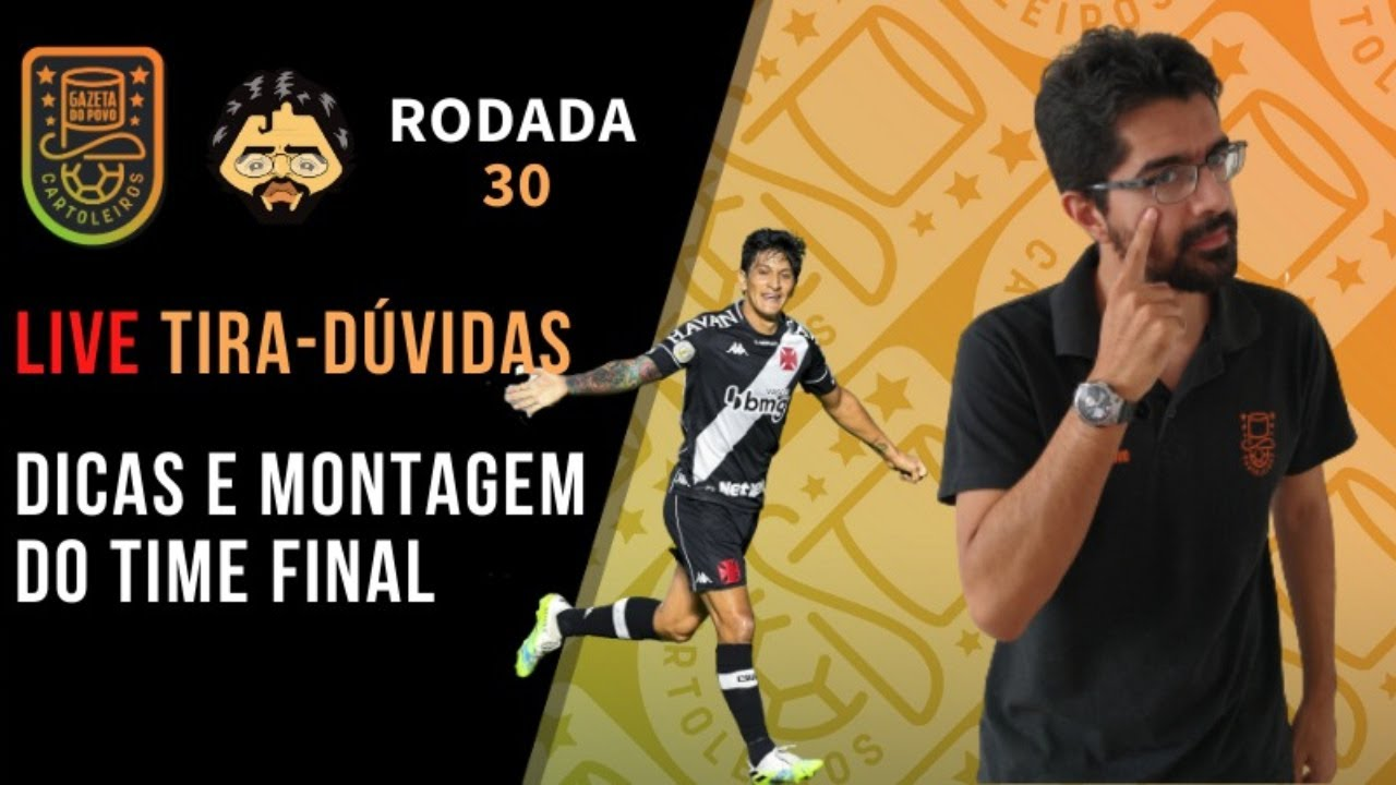 Download LIVE DICAS RODADA 30 | CARTOLA FC 2020 - PROFESSOR + PARDAL!