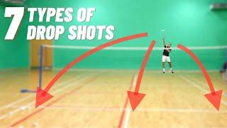 The 7 Types oḟ Drop Shots In Badminton