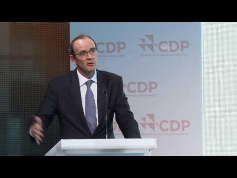 Humphry Hatton, CEO, Deloitte Türkiye, CDP Türkiye 2017 İklim Konferansı