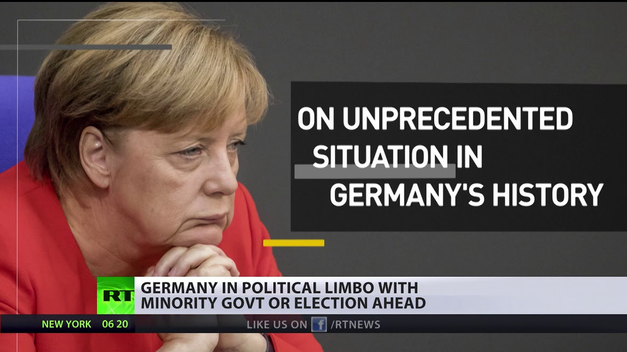 German political limbo: Collapse of coalition talks results in minority govt or election ahead