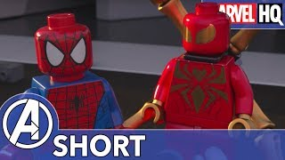 Iron Man Meets Iron Spider! | Marvel LEGO: Avengers Reassembled! | Episode 4