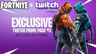Fortnite Twitch Prime Pack 3 Releasing in Season 7