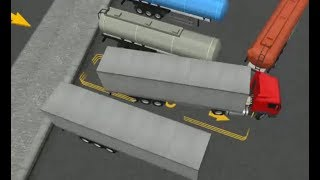 SEMI DRIVER 3D TRAILER PARKING LEVEL 25-30 | TRUCK PARKING