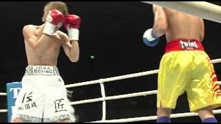 石田 匠選手(井岡ボクシングジムプロフェッショナル) 2R KO勝利 25.9.11