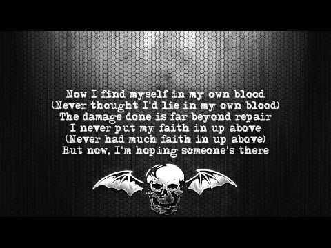 Avenged Sevenfold - Danger Line [Lyrics on screen] [Full HD]