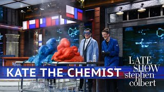 Kate The Chemist And Colbert Breathe Fire