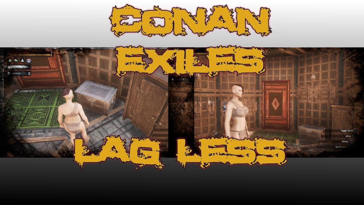 Conan Exiles Lag Fix