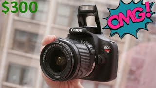 Why the Canon Rebel T5 Still Worth it In 2020! ( $300 Low Budget Camera )