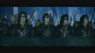 Repeat youtube video Lord of the Rings - We will rock you