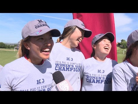 USC wins 2016 Pac-12 Women's Golf Championship