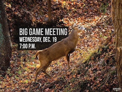 Nebraska Big Game Meeting Livestream - Test
