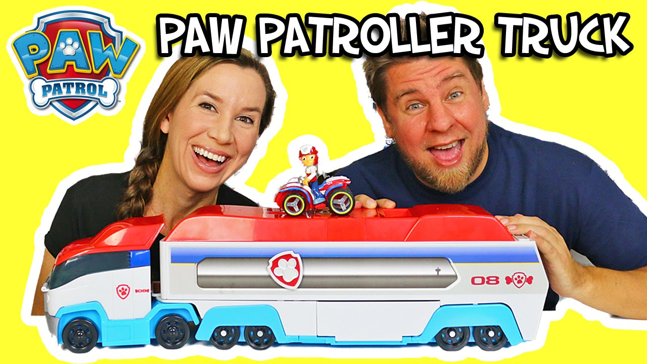 Paw Patrol Paw Patroller Truck Play And Review