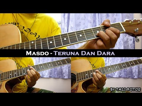 Masdo - Teruna Dan Dara (Instrumental/Full Acoustic/Guitar Cover)