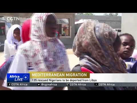 135 rescued Nigerians to be deported from Libya