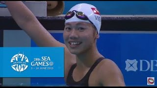 Swimming Women's 400m freestyle  (Day 5) | 28th SEA Games Singapore 2015