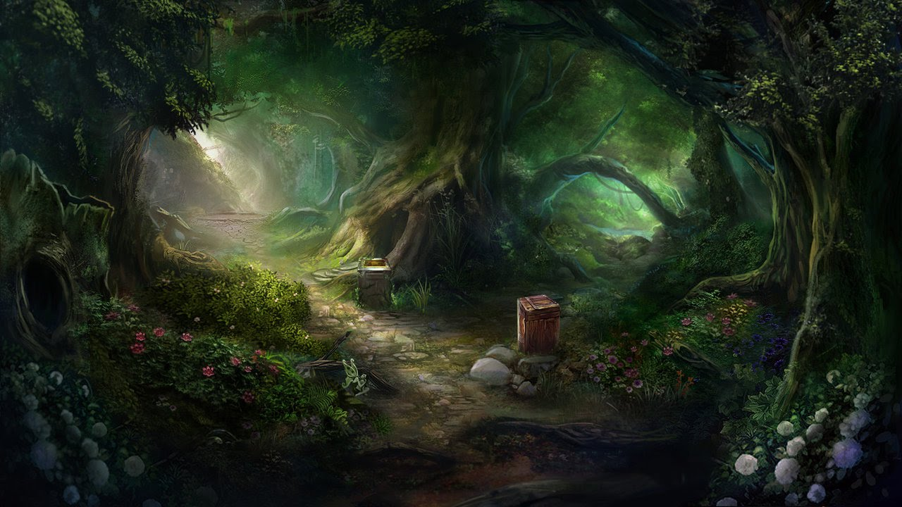 Enchanted Forest From House Of Anubis