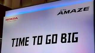#AllNewAmaze Honda Amaze Press Briefing - Features Explained