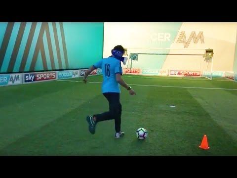 Live Blindfold Crossbar Challenge | Soccer AM v Sky Sports News HQ
