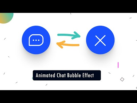🥇SVG Animated Chat Bubble Effect   HTML & SCSS   CSS3 Advanced Tutorial.