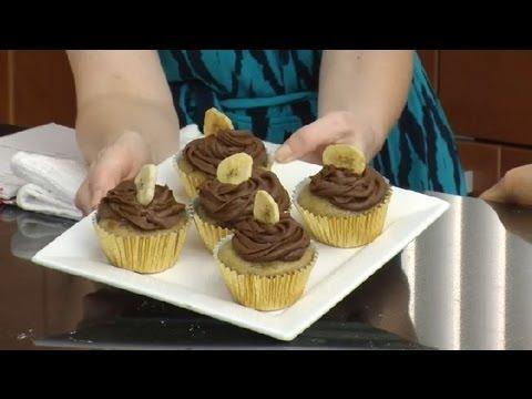 Vegan Banana Cupcakes : Vegan Desserts