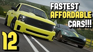 The 12 Fastest *AFFORDABLE* cars in FORZA HORIZON 4!!