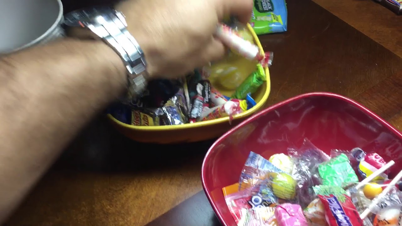 checking halloween candy #poison #candy #yummy #halloween #strange