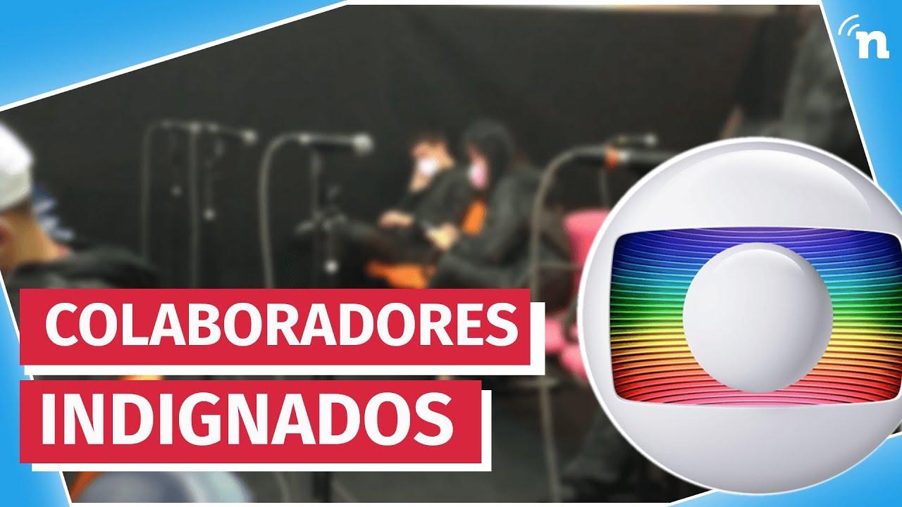 Perigo na Globo! Emissora põe figurantes em auditório sem testar para Covid-19
